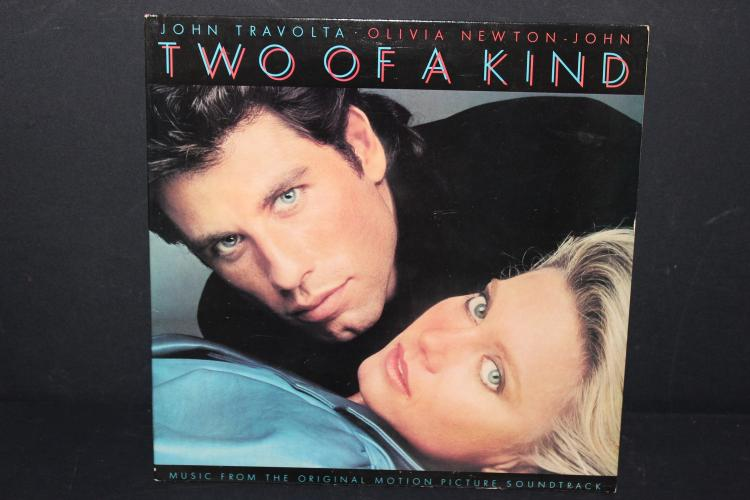 MOTION PICTURE TWO OF A KIND SOUNDTRACK 1980 GATEFOLD LIKE NEW