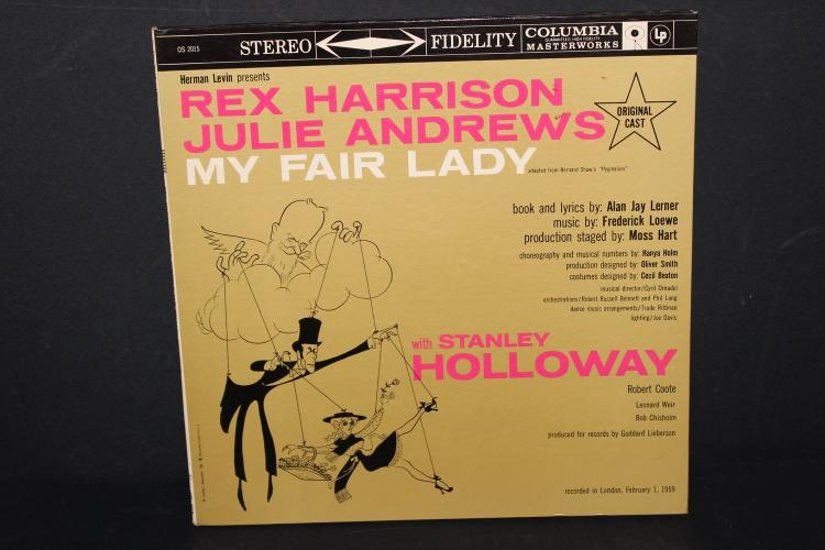 SOUNDTRACK FROM MY FAIR LADY COLUMBIA OS2015 RECORDED IN LONDON 1959 LIKE NEW GATEFOLD ALBUM