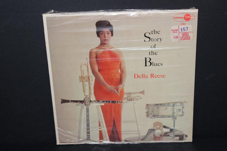 DELLA REESE THE STORY OF THE BLUES FACTORY SEALED ORIGINAL PRICE $1.57 JUBILEE 1095 ORIGINAL