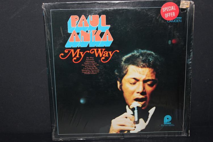 PAUL Anka My Way, Pickwick RECORDS ACL 0616 LIKE NEW