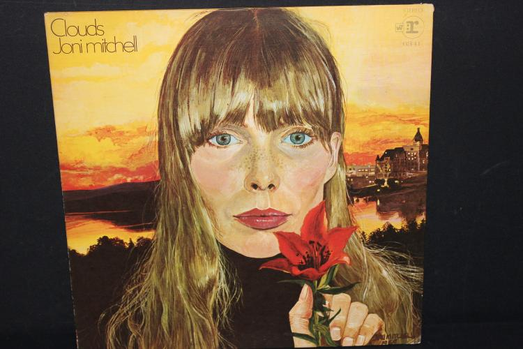 JONI MITCHELL CLOUDS EIGHTFOLD REPRISE RECORDS 6541 LIKE NEW