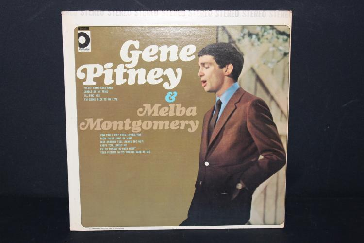 JEAN PITNEY AND MELBA MONTGOMERY DESIGN RECORDS NEAR MINT