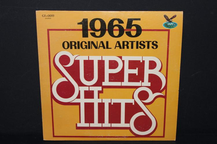 1965 SUPER HITS BY ORIGINAL ARTISTS LIKE NEW GUSTO RECORDS 010033