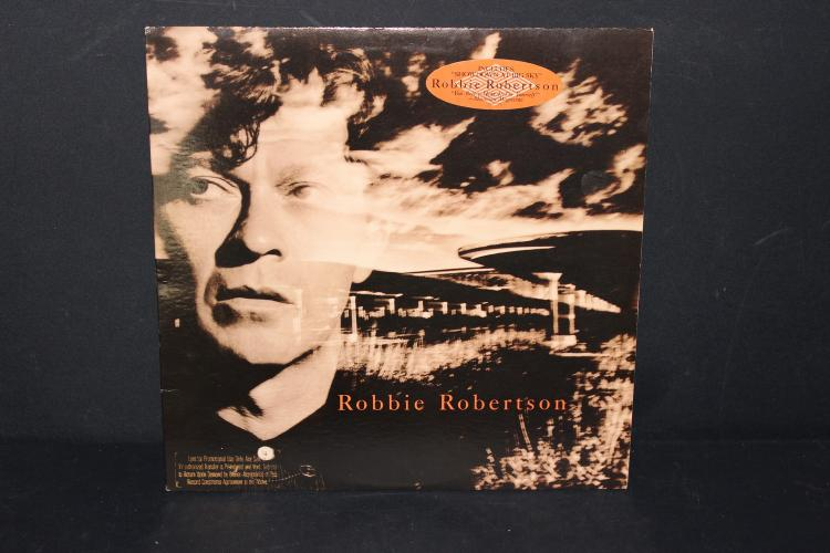 ROBBIE ROBERTSON NOT FOR SALE PROMOTIONAL ONLY LIKE NEW GHS GEFFEN 24160