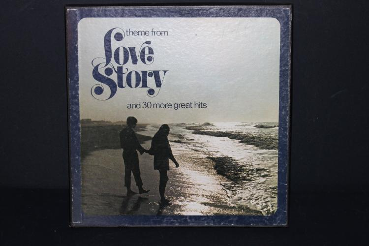 THEME FROM LOVE STORY +30 OTHER HEADS ORIGINAL SONGS ORIGINAL ARTISTS COLUMBIA HOUSE LIKE NEW THREE RECORD SET