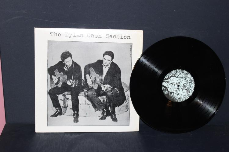 BOOTLEGGED DYLAN AND CASH SESSION LIKE NEW RARE