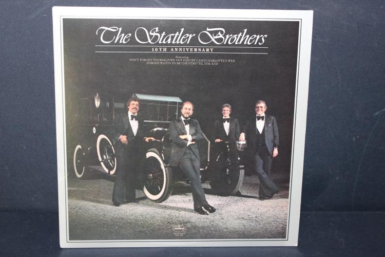 STATLER BROTHERS 10TH ANNIVERSARY 1980 LIKE NEW