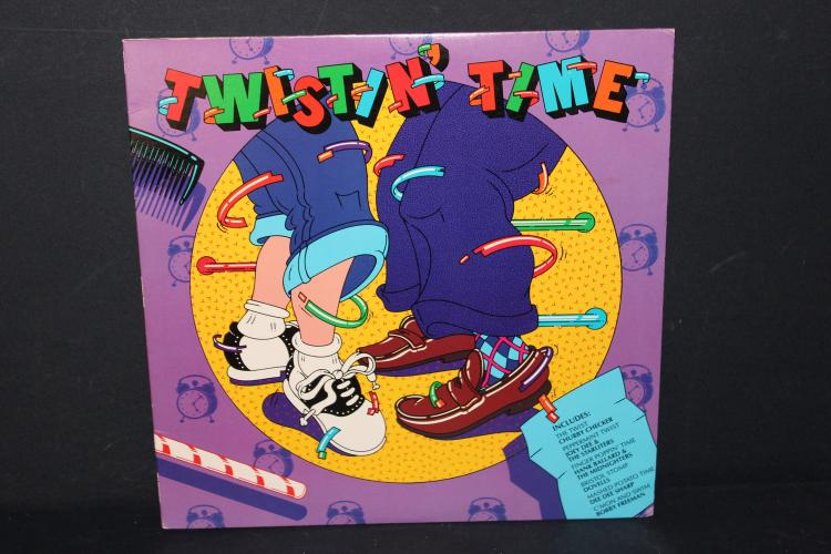 TWIST IN TIME DANCE SONGS BY ORIGINAL SINGERS ERA RECORDS 1982 LIKE NEW
