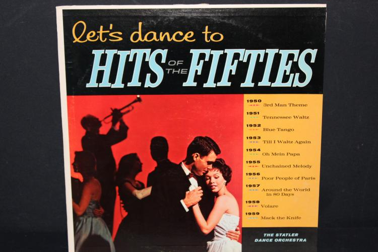 HITS OF THE 50S PERFORMED BY THE STATLER DANCE ORCHESTRA SOMERSET RECORDS LIKE NEW