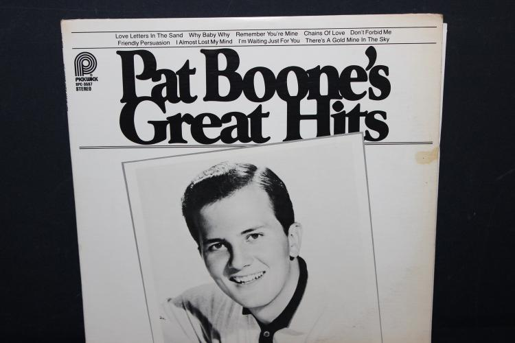 PAT BOONE'S GREAT HITS 1978 REMASTERED LIKE NEW PICKWICK RECORDS 3597L