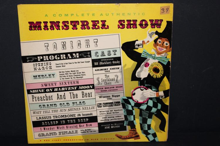 A COMPLETE AUTHENTIC MENSTRUAL SHOW SOMERSET RECORDS P – 1600 LIKE NEW