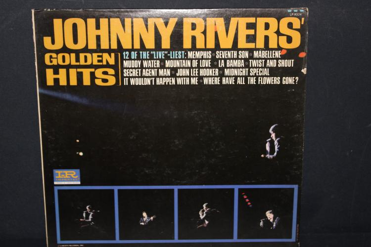 GOLDEN HITS OF JOHNNY RIVERS LIBERTY RECORDS LP 9324 LIKE NEW