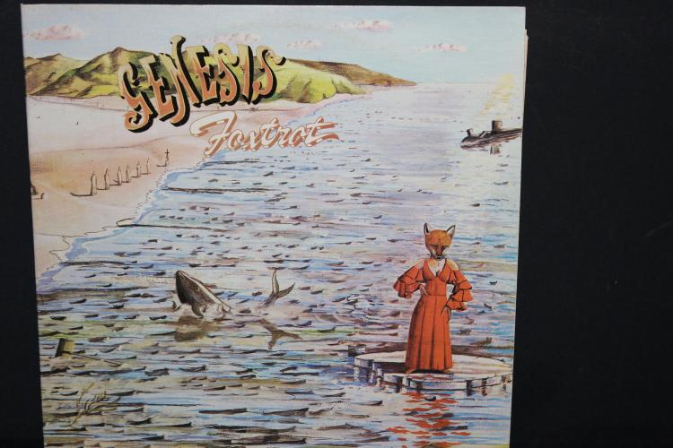 GENESIS FOXTROT 1972 BUDDHA RECORDS LIKE NEW CAS 1058 LIKE NEW