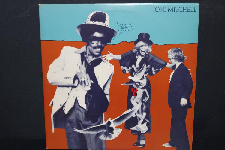 JONI MITCHELL GATEFOLD 1977 ELEKTRA ASYLUM RECORDS LIKE NEW