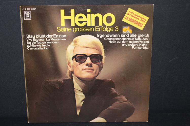 ONE OF GERMANY'S TOP SINGERS HEINO EMI COLUMBIA 1971 – 72 MADE IN GERMANY LIKE NEW