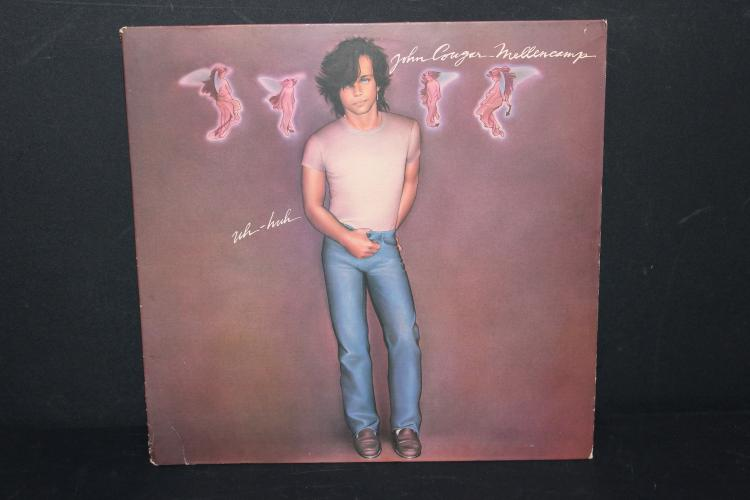 JOHN COUGAR MELLENCAMP 1983 RIVA RECORDS LIKE NEW