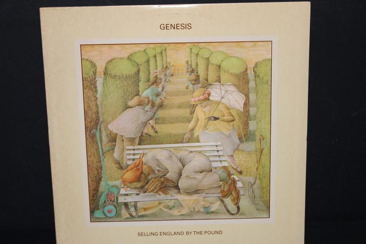 GENESIS SELLING ENGLAND BY THE POUND ATLANTIC RECORDS LIKE NEW