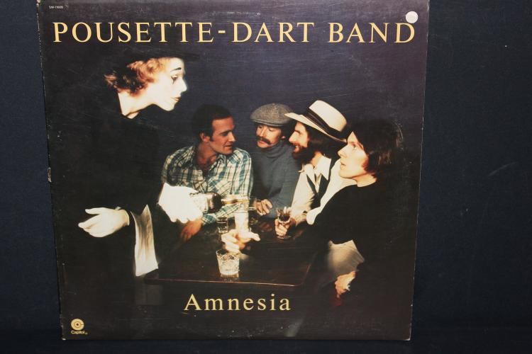 POUSETTE DART BAND - AMNESIA CAPITAL RECORDS 1977 LIKE NEW