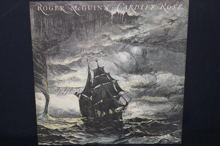 ROGER MCGUINN CARDIFF ROSE 1976 COLUMBIA RECORDS LIKE NEW