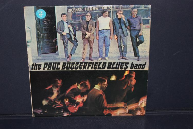 THE PAUL BUTTERFIELD BLUES BAND ELEKTRA RECORDS MINOR BLEMISHES PLAYS GREAT