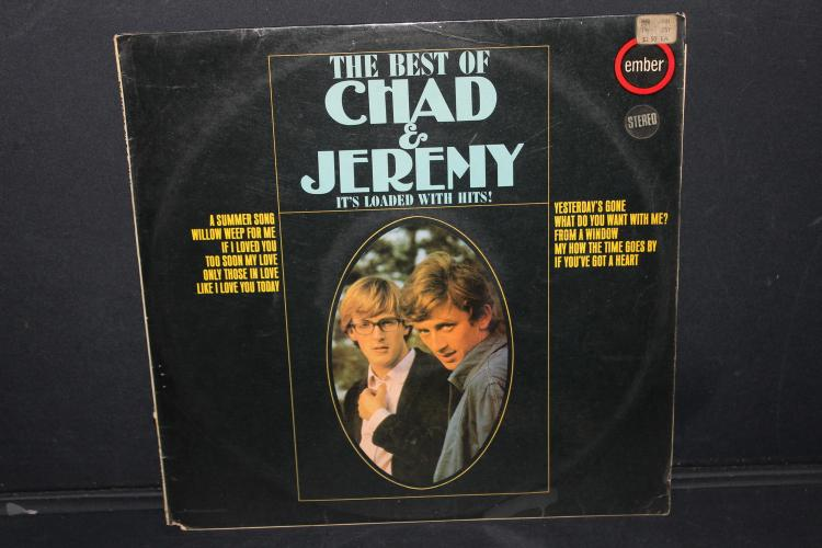 CHAD AND JEREMY EMBER RECORDS NR 5036 LIKE NEW