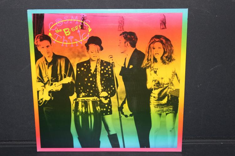 B-52S COSMIC THING 1989 REPRISE RECORDS LIKE NEW