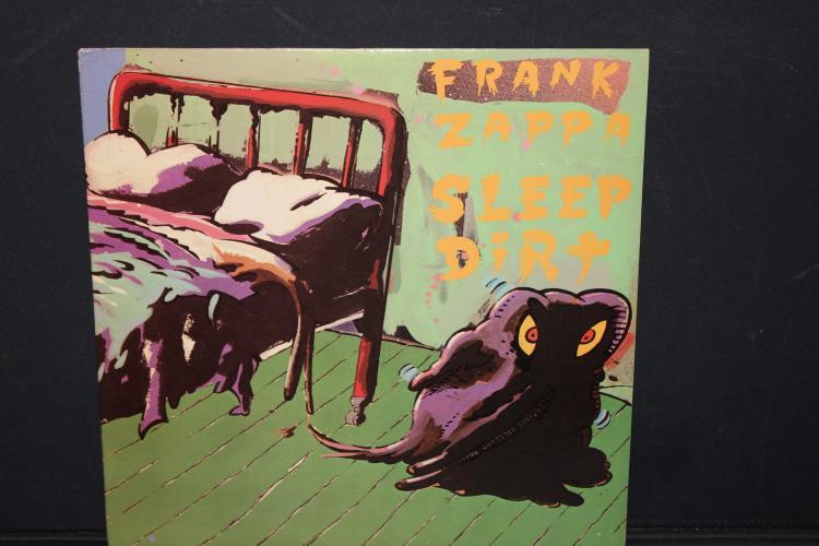 FRANK ZAPPA SLEEP DIRT 1979 WARNER BROS. DISCRETE DS K2292 NEAR MINT