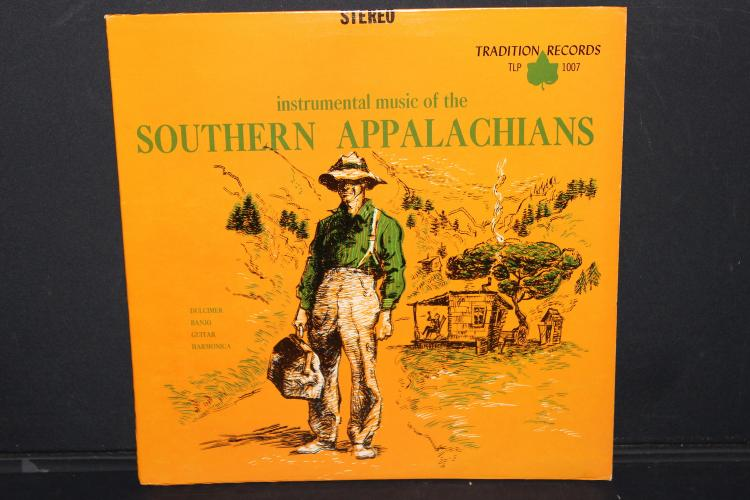 SOUTHERN APPALACHIANS 1956 TRADITION RECORDS TLP 1007 LIKE NEW
