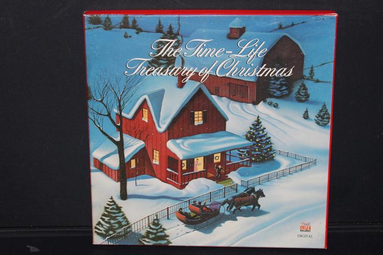 THE TIME LIFE TREASURY OF CHRISTMAS