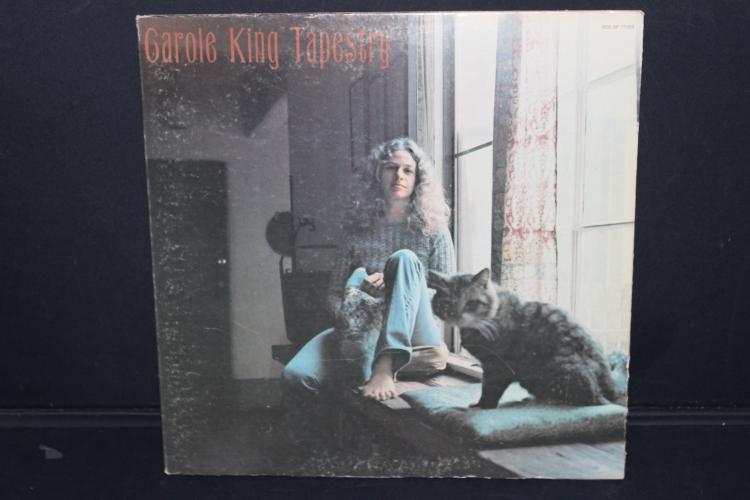 CAROL KING TAPESTRY ODE 7 RECORDS SP 77009 NEAR MINT 1971 GATEFOLD