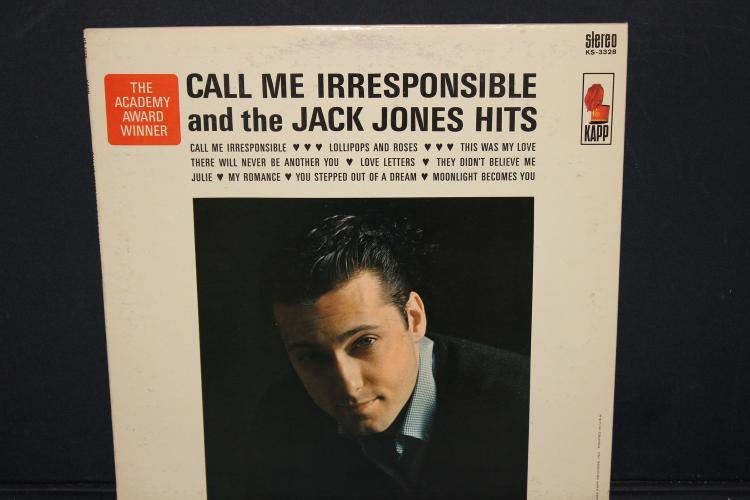 CALL ME IRRESPONSIBLE JACK JONES HITS 1963 KARP RECORDS NEAR MINT