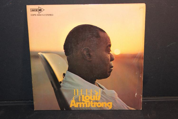 THE BEST OF LOUIS ARMSTRONG COPS 1830/1-2