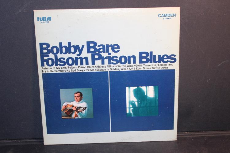 BOBBY BARE RCA RECORDS CAS2290 1968 LIKE NEW