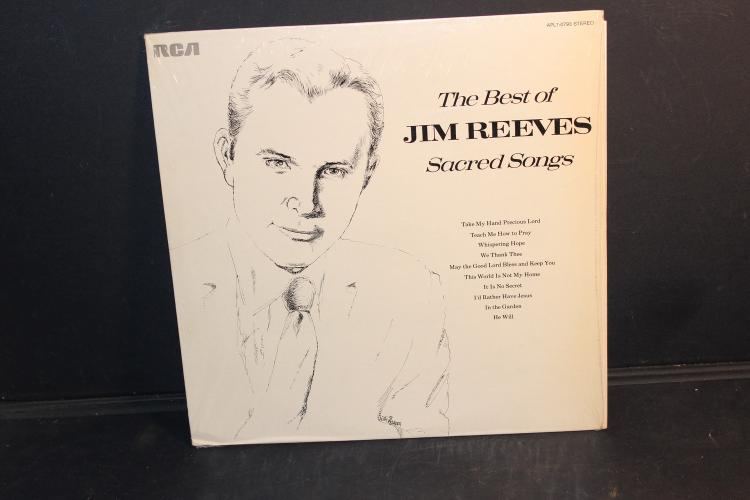 BEST OF JIM REEVES SACRED SONGS RCA APL I – 0793 LIKE NEW