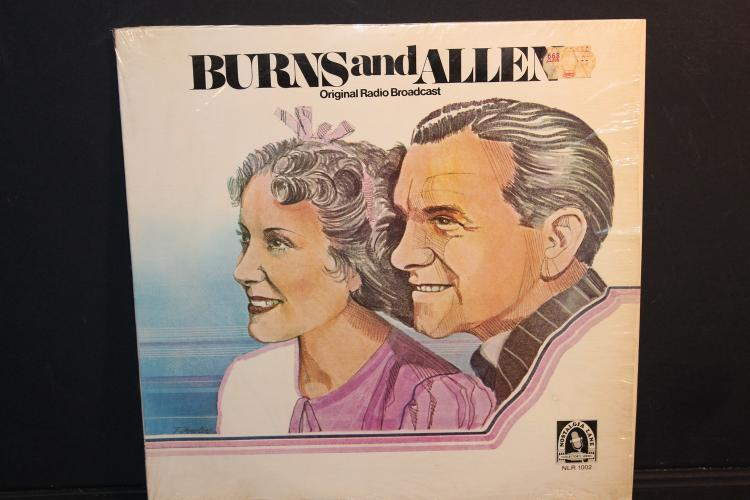 BURNS AND ALLEN ORIGINAL RADIO BROADCAST 1978 Nostalgia LANE MC - MINOR SURFACE DING SOUNDS GREAT