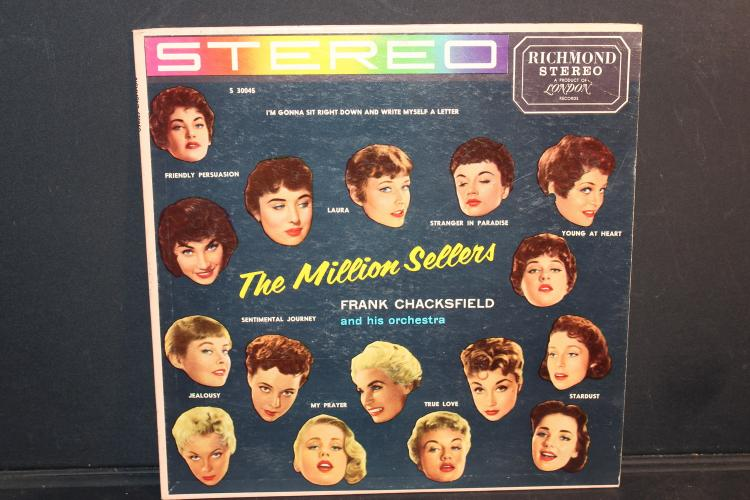 MILLION SELLERS LONDON RECORDS LIKE NEW FRANK CHACKFIELD AND HIS ORCHESTRA