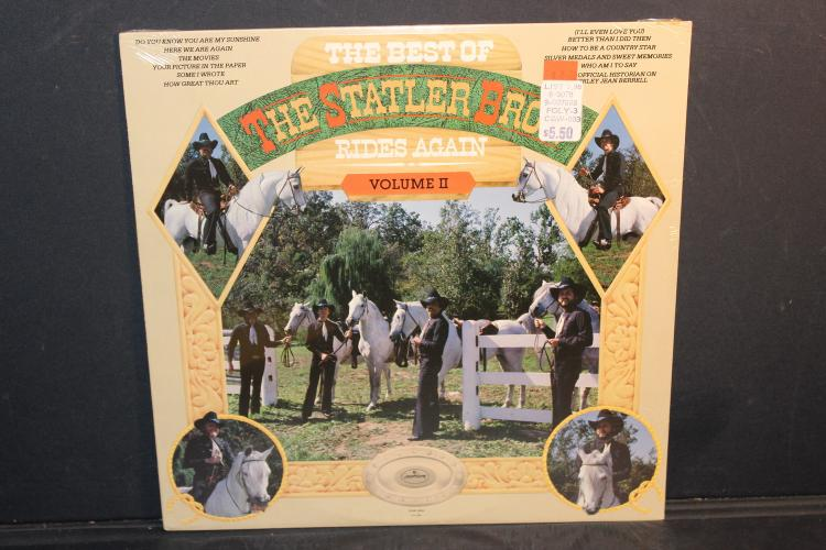 BEST OF THE STATLER BROTHERS VOLUME #2 FACTORY SEALED WITH ORIGINAL PRICING MERCURY SRM 15024 - 1979 LIKE NEW