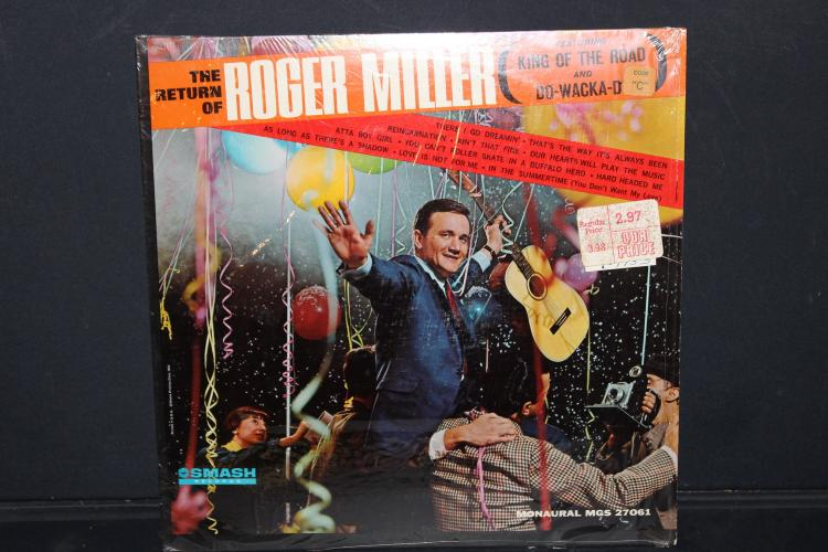 ROGER MILLER KING OF THE ROAD SMASH RECORDS LIKE NEW