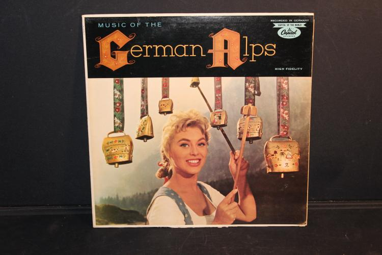 GERMAN ALPS MUSIC RECORDED IN GERMANY ALFONS BAUER - T10211 NEAR MINT