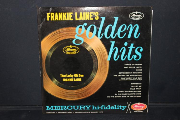 FRANKIE LARNE'S GOLDEN HITS MERCURY RECORDS MG 20587 LIKE NEW