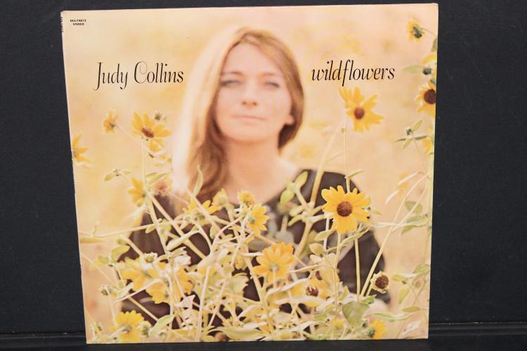 JUDY COLLINS WILDFLOWERS ELEKTRA RECORDS 74012 A LIKE NEW