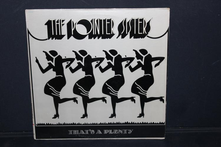 THE POINTER SISTERS THAT'S A PLENTY BLUE THUMB RECORDS 1974 LIKE NEW