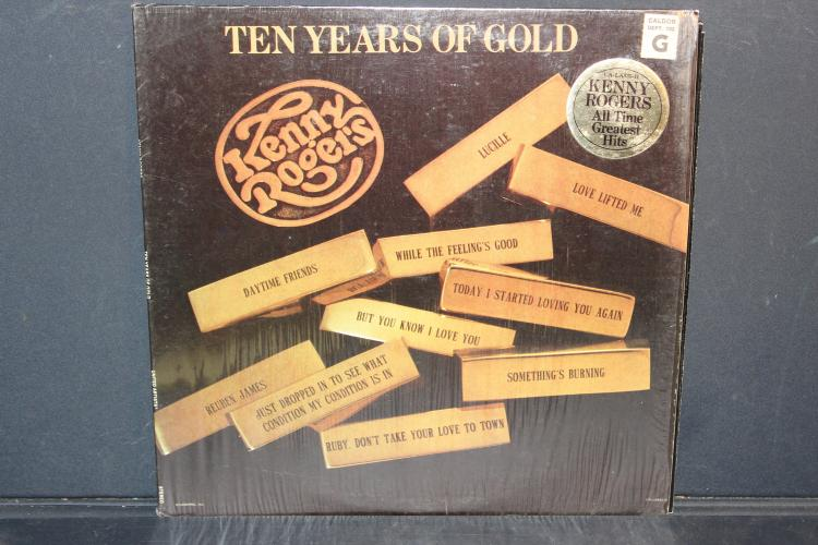 KENNY ROGERS 1977 10 YEARS OF GOLD LIKE NEW UNITED ARTIST RECORDS