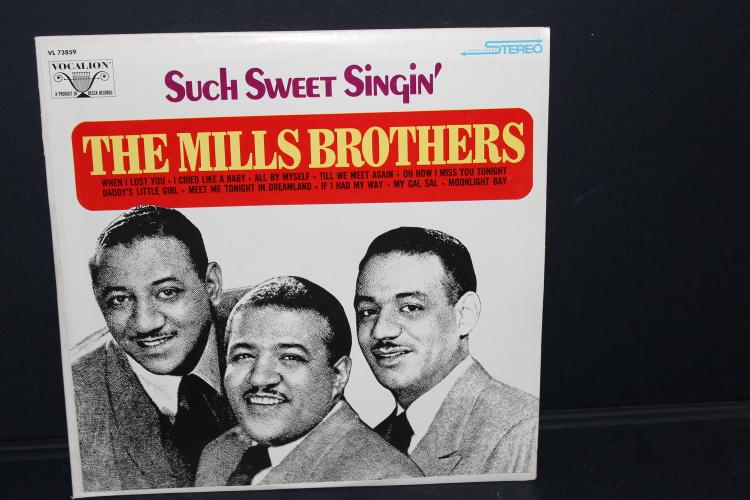 THE MILLS BROTHERS VOCATION RECORDS LIKE NEW VL 73859