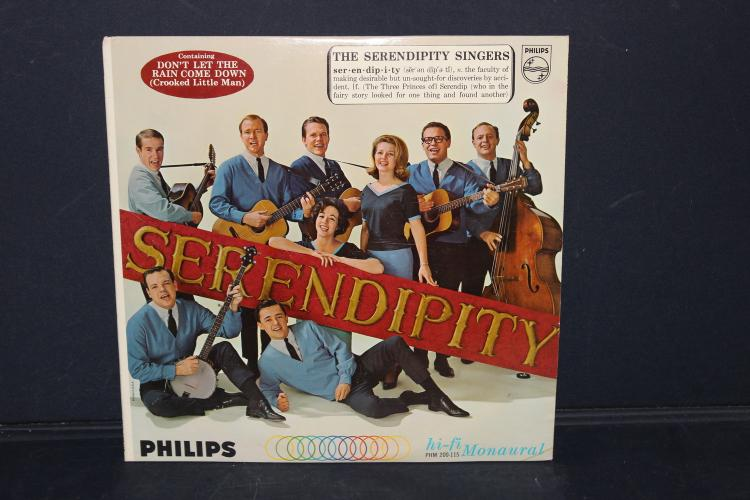 THE SERENDIPITY SINGERS PHILIPS RECORDS LIKE NEW PHM 200-115