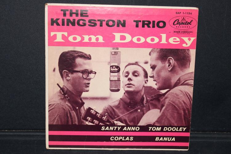 THE KINGSTON TRIO TOM DOOLEY EAP 101136