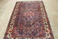 LOVELY ANTIQUE THICK PILE COLORFUL ORIENTAL RUG NEAR MINT 81 X 54