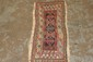 ANTIQUE SMALL ORIENTAL RUG HANDMADE 35 X 15