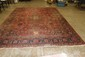 LOVELY ORIENTAL ANTIQUE CARPET NICE FIELD GOOD CONDITION 12' X 8.7
