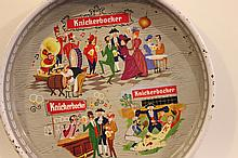 KNICKERBOCKER BEER TRAY GREAT COLOR